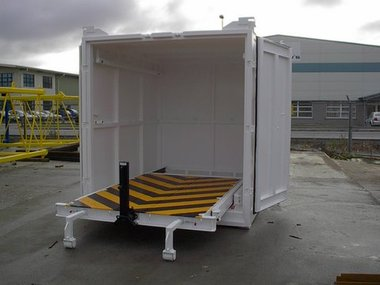 Safelift Roller Floor Container