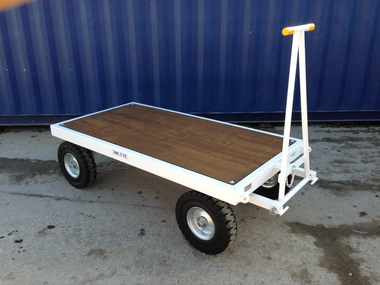 3TE Four Wheel Twin Turntable Truck - 1500mm x 1000mm x 545mm
