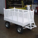 2TE SWL Liftable Four Wheel Truck