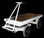 2TE Four  Wheel Flatbed Turntable Truck - 1500mm x 800mm