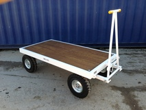 3TE Four Wheel Twin Turntable Truck - 2000mm x 1000mm x 545mm