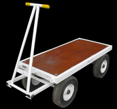 3TE Four Wheel Flatbed Turntable Truck - 1500mm x 720mm