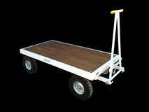 5TE Four Wheel Flatbed Turntable Truck - 2000mm x 1000mm