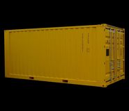 Safelift BS EN 12079/DNV 2.7-1 Standard Container 20ft x 8ft x 8ft 6
